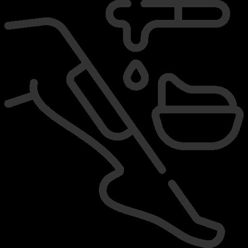 Leg wax icon
