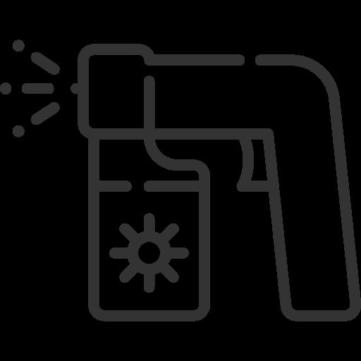 Spray tanning icon